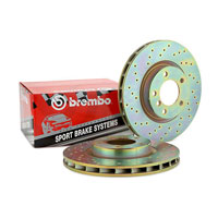 Brembo sport drilled