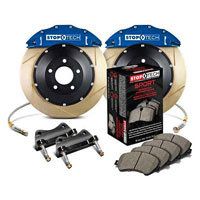 Stoptech big brake kit blue slotted