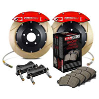 Stoptech big brake kit red slotted