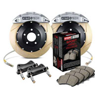 Stoptech big brake kit silver slotted