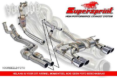 "816044, 500 ABARTH, 500 ABARTH kit SS 1.4T (160 Hp) 2008 - ' 15, ""Endpipe kit """"Race"""" Right O100 - Left O100"", To be installed as a kit with 816004 or 816014"