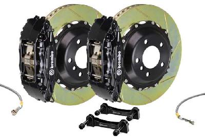 Brembo Big Brake Kit Black, 355x32mm 2-Piece rotor Slotted, 4 piston caliper, Brembo H Caliper, Audi, A3 (8V) 1.0 TFSI, 1.2 TFSI, 1.8 TFSI, 2.0 TDI Front, 2013-