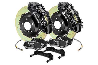 Brembo Big Brake Kit Black, 355x32mm 2-Piece rotor Slotted, 6 piston caliper, Brembo M Caliper, Audi, A3 (8V) 1.0 TFSI, 1.2 TFSI, 1.8 TFSI, 2.0 TDI Front, 2013-