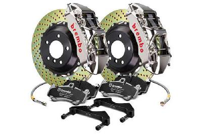 Brembo Big Brake Kit GT-R, 355x32mm 2-Piece rotor Drilled, 6 piston caliper, Brembo M Caliper, Audi, A3 (8V) 1.0 TFSI, 1.2 TFSI, 1.8 TFSI, 2.0 TDI Front, 2013-