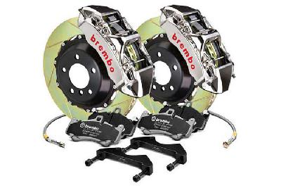 Brembo Big Brake Kit GT-R, 355x32mm 2-Piece rotor Slotted, 6 piston caliper, Brembo M Caliper, Audi, A3 (8V) 1.0 TFSI, 1.2 TFSI, 1.8 TFSI, 2.0 TDI Front, 2013-