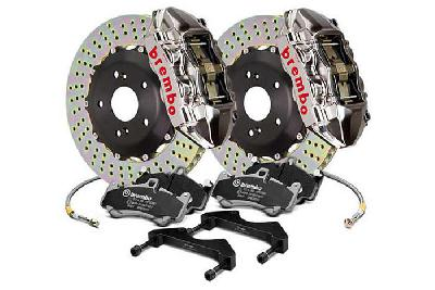 Brembo Big Brake Kit GT-R, 365x29mm 2-Piece rotor Drilled, 4 piston caliper, Brembo P Caliper, Audi, A3 (8V) 1.0 TFSI, 1.2 TFSI, 1.8 TFSI, 2.0 TDI Front, 2013-
