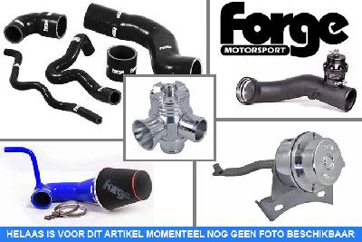 FMDVHFTFSI-Black-hoses, Forge Motorsport Hi Flow vacuum operated Blow off/ RECIRC valve, Audi, A3 1.8 TFSI/2.0 TFSI