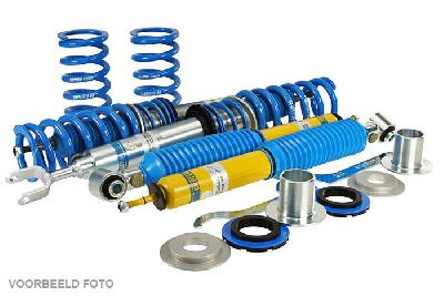 48-080651, Bilstein B16  PSS9 Schroefset demping instelbaar, Audi A3 (8L1), 1.6,  1.8,  1.8 T,  1.9 TDI, 09/1996-05/2003, Spacers required for several wheel/tyre combinations, Conditions see certificates / Front axle lowering (expertise): 25-45 mm, axle load to: 1060 kg / Rear axle lowering (expertise): 20-40 mm, axle load to: 1010 kg
