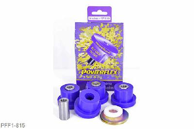 PFF1-815, Powerflex Polyurethane Street Use Front Upper Arm Bush, Alfa Romeo 147 (2000-2010), 156 (1997-2007), GT (2003-2010), These bushes should be fitted with the supplied metal washers which are to be fitted on the large Top Hat face of the bush. Always check suspension alignment after fitting POWERFLEX bushes., 4 stuk(s) benodigd  per auto, 4 stuk(s) in verpakking, prijs per set van 4 stuk(s), Nummer 5 in diagram