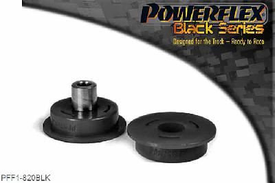 PFF1-820BLK, Powerflex Polyurethane Racing, Engine Mount Engine To Stabilizer Bush, Alfa Romeo 147 (2000-2010), 156 (1997-2007), GT (2003-2010), Fits 1.6 to 2.0 petrol 145, 146, 147, 156, GTV(916) & Spider(916) models. Replaces OE bush part numbers 46420429 and 60814467. Also fits 166 V6 models, fits into arm OE number 60677745., 1 stuk(s) benodigd  per auto, 1 stuk(s) benodigd  per auto, prijs per set van 1 stuk(s), prijs per set van 1 stuk(s)